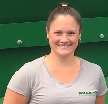 Rock and Recycling Team - Kelly Rockwood